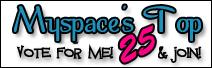 Myspace's Top 25 Sites